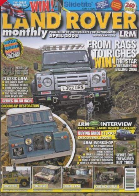 LRM magazine cover